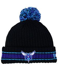 New Era Charlotte Hornets Basic Chunky Pom Knit Hat