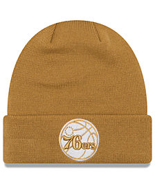 New Era Philadelphia 76ers Fall Time Cuff Knit Hat