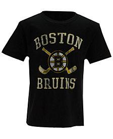 Outerstuff Boston Bruins Sticks Crossed T-Shirt, Little Boys (4-7)