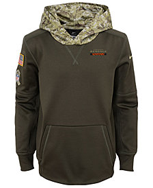 Nike Cincinnati Bengals Salute To Service Therma Hoodie, Big Boys (8-20)