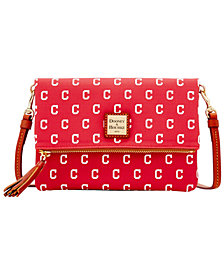 Dooney & Bourke Cleveland Indians Foldover Crossbody Purse