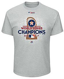 Majestic Houston Astros 2017 World Series Champ Locker Room T-Shirt, Big Boys (8-20)