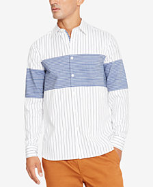 Kenneth Cole Men's Combo Stripe Shirt