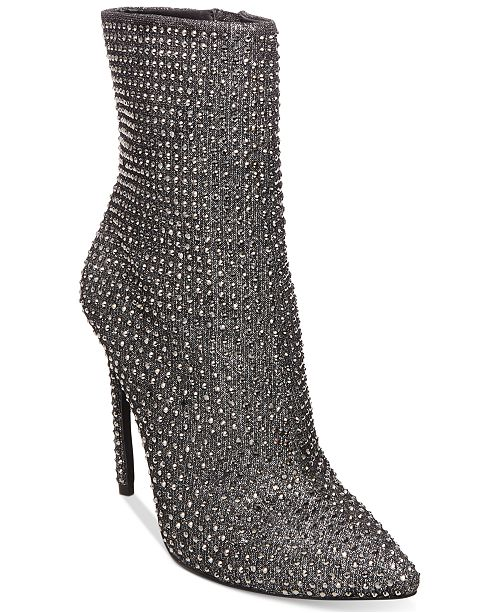 c9e6a3f5089 Steve Madden Women's Wifey Embellished Booties & Reviews - Boots ...