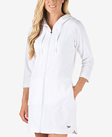 Speedo Aquatic Fitness Zip-Up Cover-Up Dress