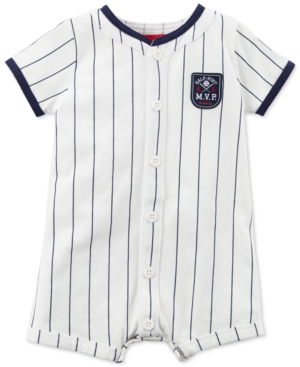 Carters Striped Mvp Cotton Romper Baby Boys (024 months)