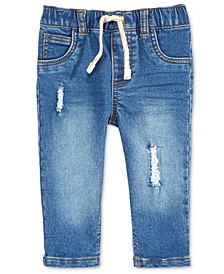Destructed Denim Jeans, Baby Boys, Created for Macy's