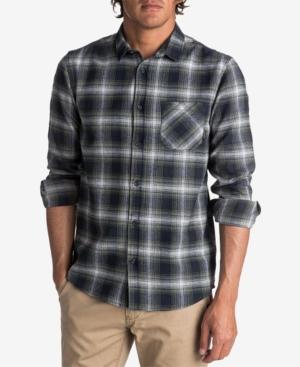 Quiksilver Men's Fatherfly Plaid Flannel Shirt