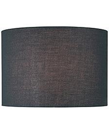 Lamp shades lamps light fixtures macys lite source 16 fabric drum lamp shade aloadofball Choice Image