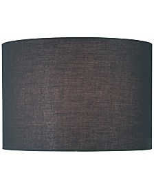 "Lite Source 16"" Fabric Drum Lamp Shade"