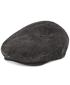 Men's Weathered Leather Ivy Hat
