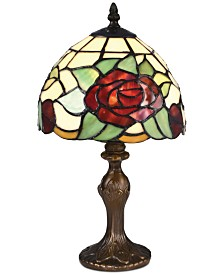 Dale Tiffany Indian Rose Accent Lamp