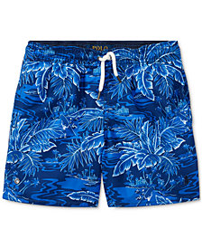 Ralph Lauren Printed Swim Trunks, Toddler Boys