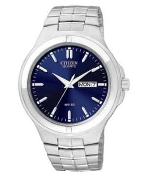 Citizen Men's Stainless Steel Bracelet Watch 42mm BF0590-53L