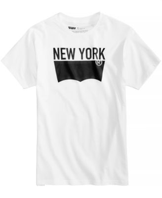 Men's NYC Batwing Logo-Print T-Shirt