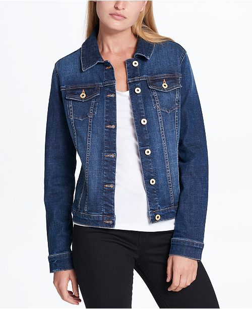 c692c0891b0 ... Tommy Hilfiger Cotton Denim Jacket