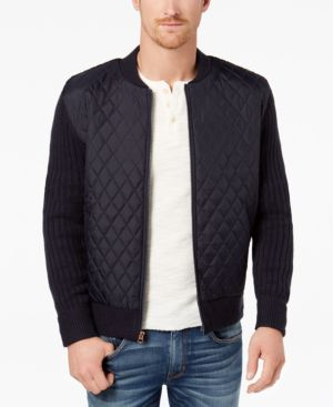 Weatherproof Vintage Men's Quilted Bomber Jacket 4925742