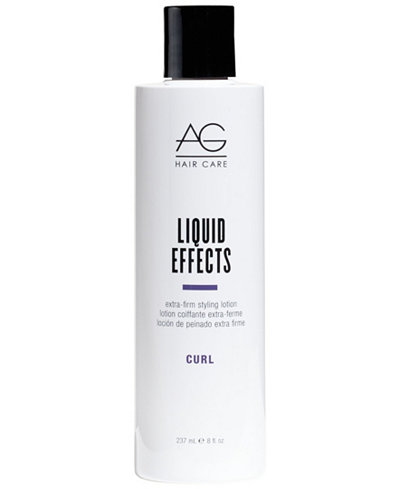 AG Hair Liquid Effects Extra-Firm Styling Lotion, 8-oz., from PUREBEAUTY Salon & Spa