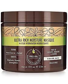 Macadamia Ultra Rich Moisture Masque, 8-oz., from PUREBEAUTY Salon & Spa
