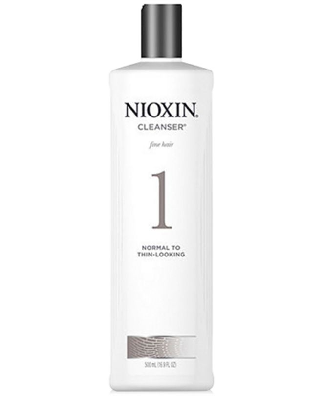 Nioxin System 1 Cleanser, 16.9-oz., from PUREBEAUTY Salon & Spa