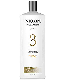 Nioxin System 3 Cleanser, 33.8-oz., from PUREBEAUTY Salon & Spa