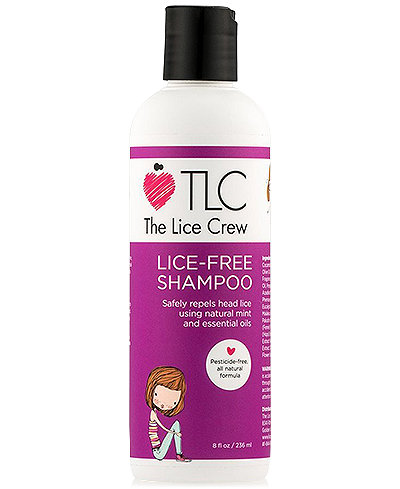 The Lice Crew Lice-Free Shampoo, 8-oz., from PUREBEAUTY Salon & Spa