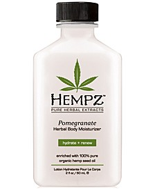 Pomegranate Herbal Body Moisturizer, 2-oz., from PUREBEAUTY Salon & Spa