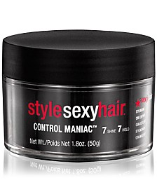 Sexy Hair Style Sexy Hair Control Maniac, 1.8-oz., from PUREBEAUTY Salon & Spa