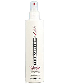 Paul Mitchell Soft Sculpting Spray Gel, 8.5-oz., from PUREBEAUTY Salon & Spa