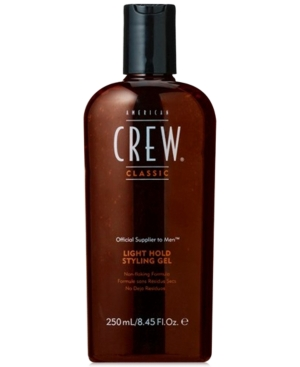 Image of American Crew Classic Light Hold Styling Gel, 8-oz, from Purebeauty Salon & Spa
