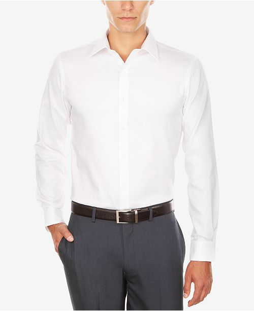 shop best sellers sale uk popular stores Men's Athletic Fit Performance Stretch TH Flex Collar Dress Shirt, Created  for Macy's