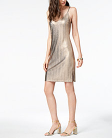 MINKPINK Metallic Slip Dress