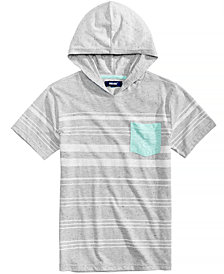 Univibe Valentin Hooded Pocket Shirt, Big Boys