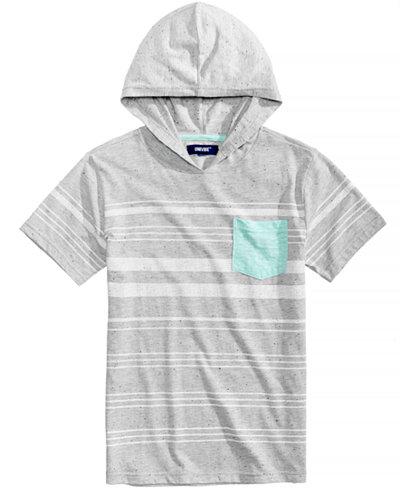 Univibe Valentin Hooded Pocket Shirt, Big Boys