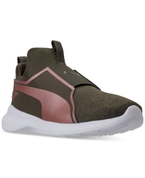 Puma Little Girls' Rebel...