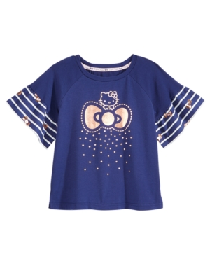 Hello Kitty RuffleSleeve TShirt Toddler Girls (2T5T)