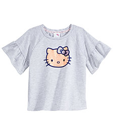 Hello Kitty Printed T-Shirt, Little Girls
