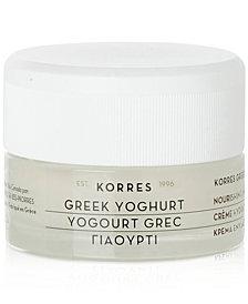 Korres Greek Yoghurt Nourishing Moisturiser, 1.35 fl oz.