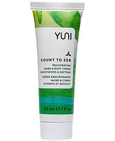 Yuni Count To Zen Rejuvenating Hand & Body Crème, 1 fl. oz.