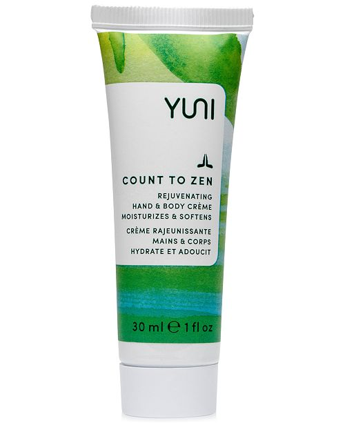 YUNI Count To Zen Rejuvenating Hand & Body Crème, 1 fl. oz.