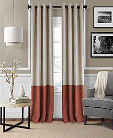 "Elrene Braiden Blackout Colorblocked 52"" x 84"" Panel"