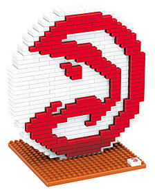 Forever Collectibles Atlanta Hawks BRXLZ 3D Logo Puzzle