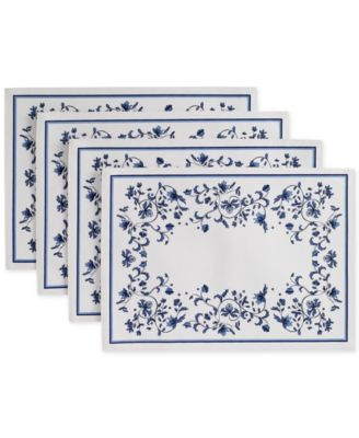 Blue Portofino 4-Pc. Placemat Set