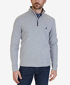 Nautica Men's Quarter-Zip Pullover Sweater