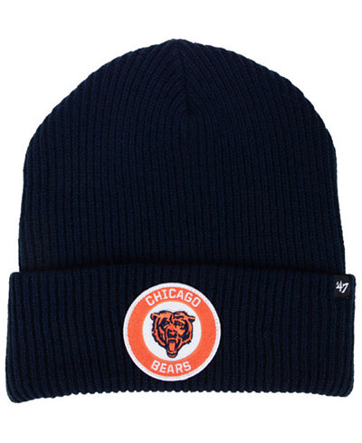 '47 Brand Chicago Bears Ice Block Cuff Knit Hat