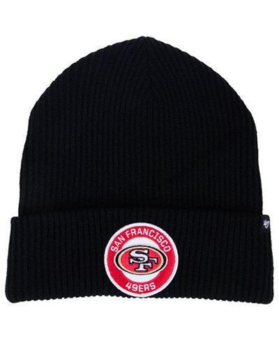 '47 Brand San Francisco 49ers Ice Block Cuff Knit Hat