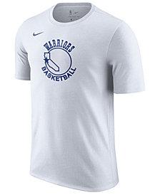 Nike Men's Golden State Warriors Hardwood Classics Logo T-Shirt