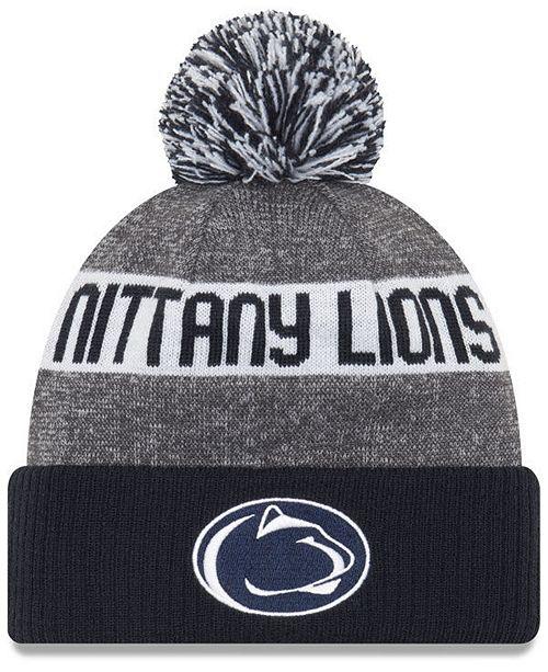 56083bd4ebf New Era Penn State Nittany Lions Sport Knit Hat - Sports Fan Shop By ...