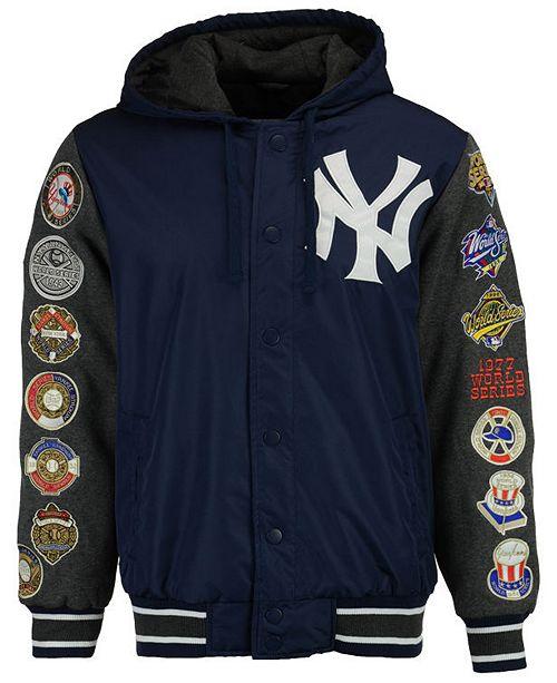 204d75e01 ... G-III Sports Men s New York Yankees Top Brass Commemorative Varsity  Jacket ...