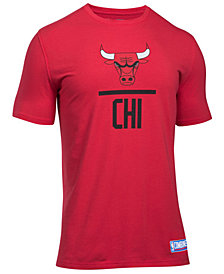 Under Armour Men's Chicago Bulls Lockup T-Shirt